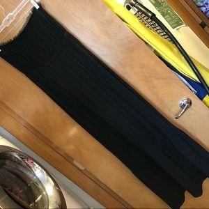 Banana Republic NWT black strapless maxi, size S